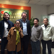 Cfe Corporation Co.,Ltd - Our Photo with German Customers