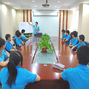 Shenzhen N-NET Technology Co. Ltd-Our monthly management board meeting