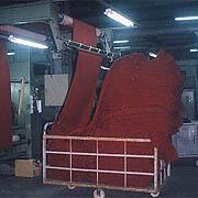 Lee Yaw Textile Co Ltd - Textile undergoing brushing process