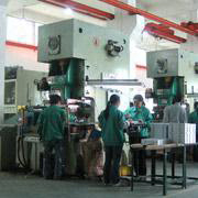 Dongguan Qiangfa Metal Product Co. Ltd - Progressive stamping production site