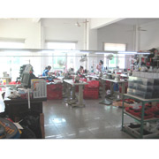 Xiamen Pike Industrial Co. Ltd - Sample room, making the counter samples