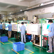 Dongguan Chuand Electronics Technology Co.,Ltd - Our Organized Injection Workshop