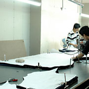 Nan'an City Shiying Sexy Lingerie Co. Ltd - Our cutting workshop