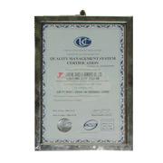 Jinjiang Jiaxing Import & Export Company - With ISO 9001:2008 standard