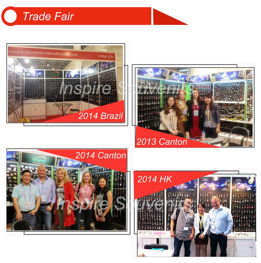 Inspire Souvenirs Manufacturing Ltd - Our tradeshow