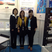 Ningbo Excellence Communicated Connector Co. Ltd - Tracy, Snow and Sunny on HK Fair October