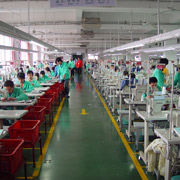 Qingdao Classic Landy Garments Co. Ltd - One of the production lines