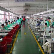 Qingdao Classic Landy Garments Co. Ltd - One of the production lines