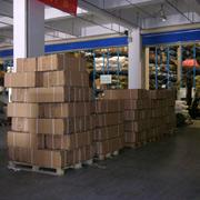 Qingdao Classic Landy Garments Co. Ltd - Materials warehouse corner
