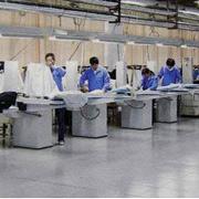 Qingdao Classic Landy Garments Co. Ltd - Ironing corner