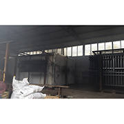 Linqu Lvxia Huachang Electromotion Gate Factory - Other part of our warehouse