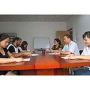 Shenzhen Baolian Plastic Products Manufactory-Our monthly management meeting