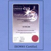 Guangdong Zhuoye Lighter Manufacturing Co. Ltd - ISO 9001 certificate
