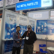 Hunan HLC Metal Technology Ltd - Our booth at the CES in Las Vegas, USA