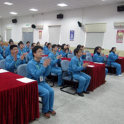 Ningbo Excellence Communicated Connector Co. Ltd-82 management staff take 12 days training course