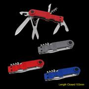 Plenty Harvest Metal Factory (Group). - Multifunction Pocket Knife (#6154)