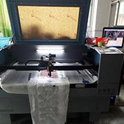 Shenzhen Universal Union Badges Co. Ltd - Our Laser Cut Machine