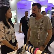Shenzhen Bestop Technology Co., Ltd. - Customer visit our booth