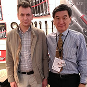 Transtime Tools Co Ltd-Mr. Sunny Huang in the Germany fair