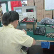 Shenzhen Chitongda Electronic Co. Ltd - One of our QC conducting inspection on finished products