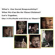 Shanghai Hongbin International Co.Ltd - What We Can Do for These Children