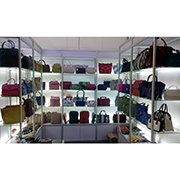 High Quality Leather And Accessories Co.Ltd - Our Booth in Canton Fair