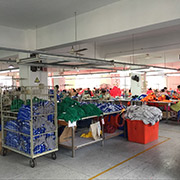 Xiamen Microunion Industrial and Trading Co. Ltd - Workers on Sewing Lines