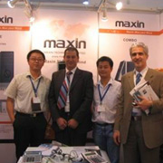 Maxin Technology Ltd - Meeting with Our Clients at the Exhibition