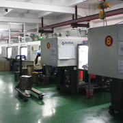 Dongguan Afang Plastic Products CO.,LTD - Our injection line