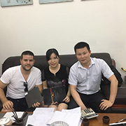 Chengxinguang Technology Co., Ltd. - Meeting with Israel Customer