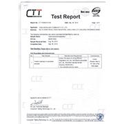 Yiwu Bewalker Commodity Co. Ltd - Fabric test report