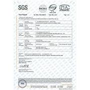 Yiwu Bewalker Commodity Co. Ltd - SGS Test Report