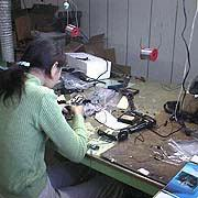 Monoeric International Co. Ltd - A look at one of our QC people hard at work