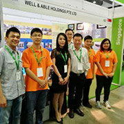 Well & Able Holdings Pte Ltd - Our sales team