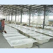Wenzhou Times Co. Ltd (Dept. 4) - Bathtub production line
