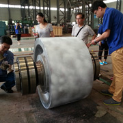 CITICIC Luoyang Heavy Machinery Co., Ltd - Our installation inspection of support roller assembly