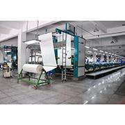 Zhejiang Huayuan Textiles Co. Ltd. - Our Flat Screen Printing Machine from Switzerland