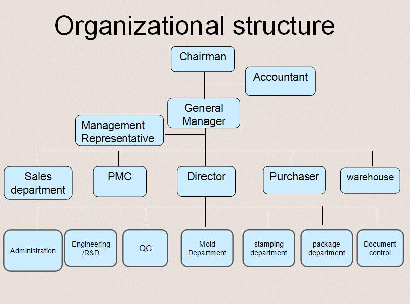 Dongguan Qiwei Metal And Mold Factory - Organizational Structure