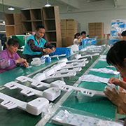 XIAMEN SOOTHINGWARE SANITARY CO.,LTD. - Production line
