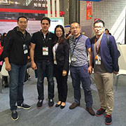 Sange Electronics Co. Ltd - Meeting new customers during the trade show