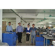 Sange Electronics Co. Ltd - Customers visiting our work area
