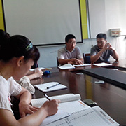 Xiamen Vdo Sport Industry Co. Ltd-During our management meeting