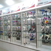 Jieyang Xindaman Hardware & Electrical Appliances Co. Ltd - Our products on display
