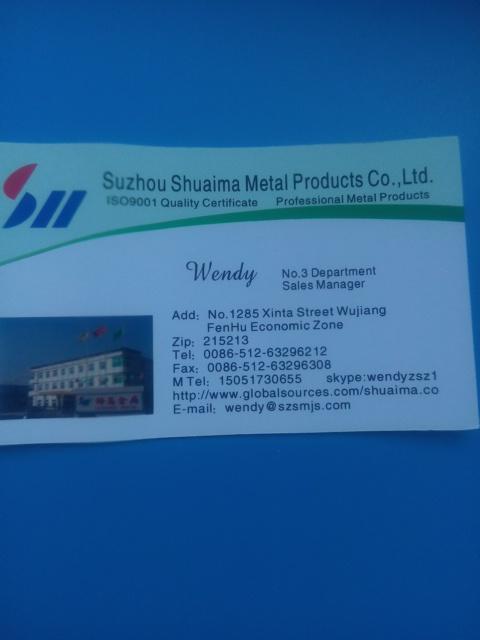 Jiangsu Shuaima Security Technology Co.,Ltd - Our sales manager contact details