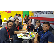 Zhilang Furniture Co.,Ltd - Meeting with buyers