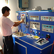 Ningbo Zhenhai Sunroder Electric Appliances Co. Ltd - Our R&D testing and inspecting our products