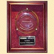 Tontec International Ltd. (Mold, Tooling & Molding Services) - Supplier of the year award from Honeywell