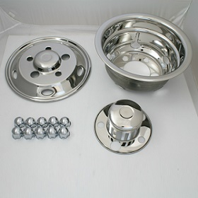 Stainless steel wheel cover for Japan truck