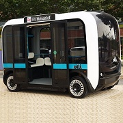 World's first 3D-printed self-driving bus talks to passengers