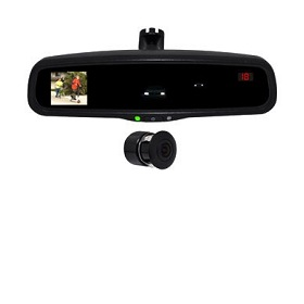 Auto-dimming car rearview mirror